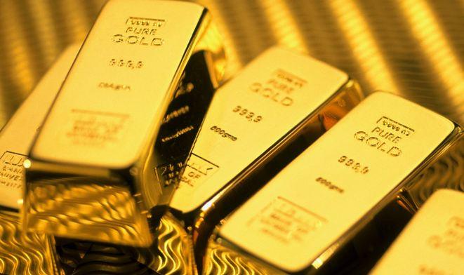 Gold slump