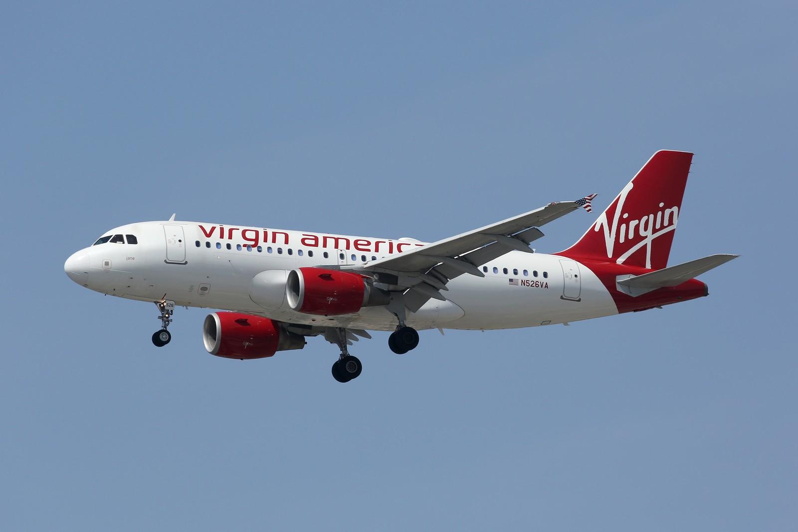 Virgin America Airbus A319